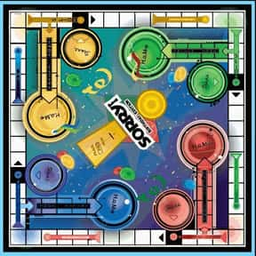 Sorry! is listed (or ranked) 2 on the list The Best Classic Board Games