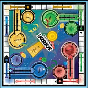 Sorry! is listed (or ranked) 5 on the list The Best Board Games for Kids 7-12