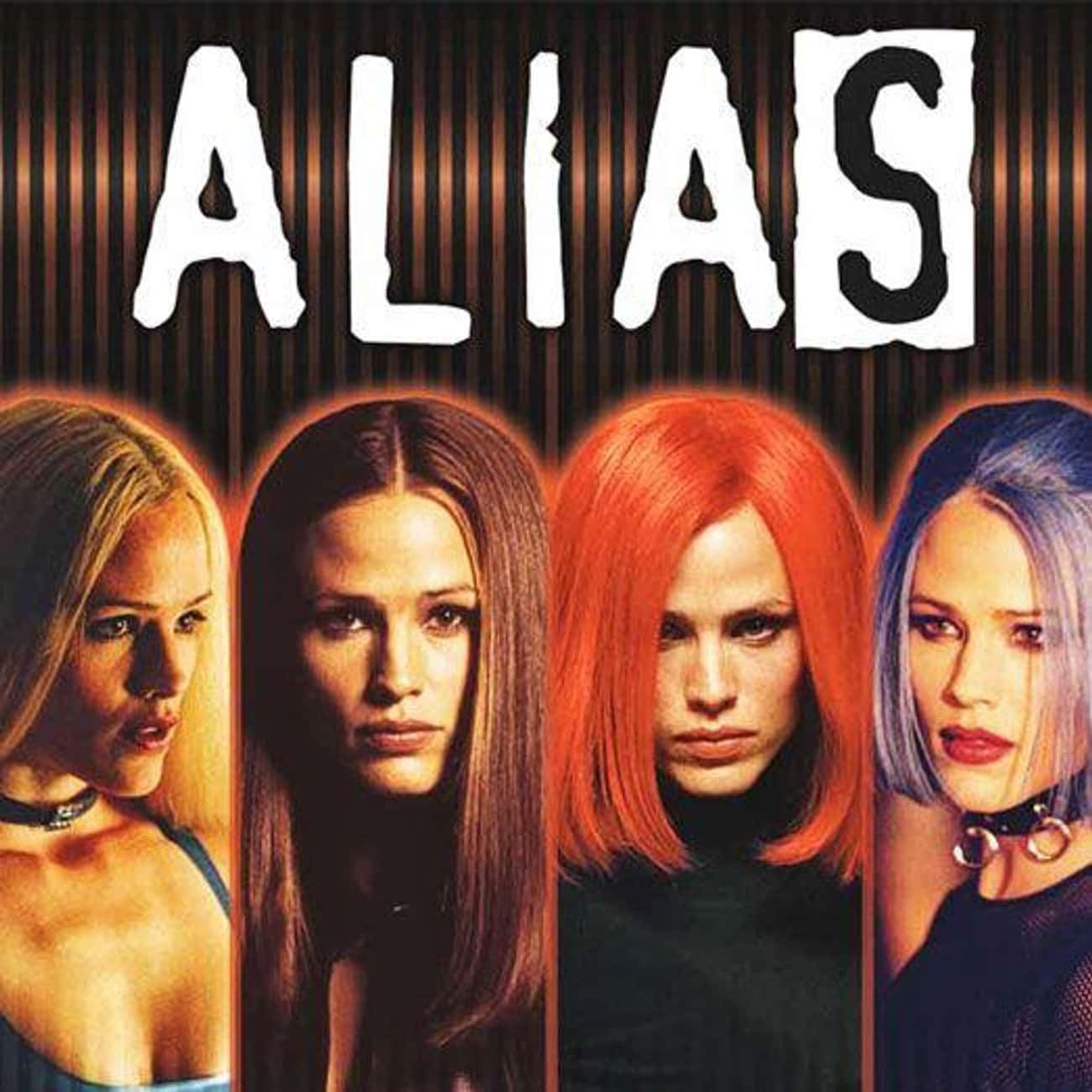 Alias is listed (or ranked) 1 on the list TV Shows Produced By Bad Robot Productions