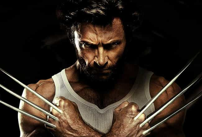 Wolverine is listed (or ranked) 3 on the list The Greatest Immortal Characters in Fiction