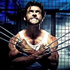 Wolverine is listed (or ranked) 1 on the list The Most Hardcore Big Screen Action Heroes