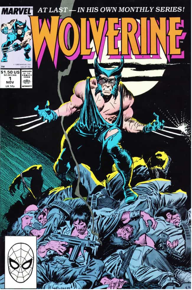 Wolverine is listed (or ranked) 1 on the list 18 Comic Book Characters From Canada