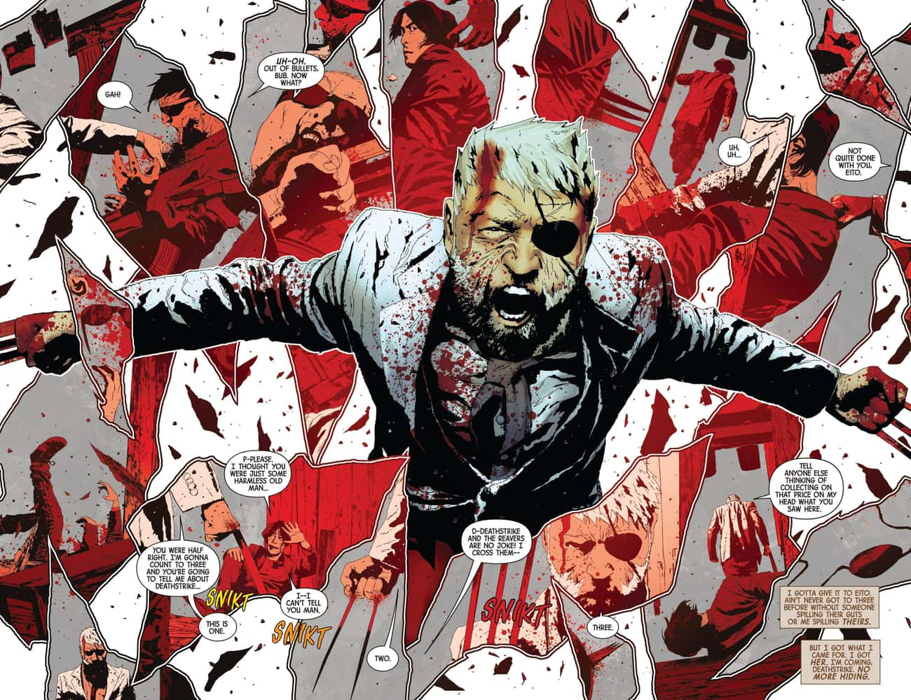 Old Man Logan Is Traumatized After He Accidentally Slays His Fellow X-Men