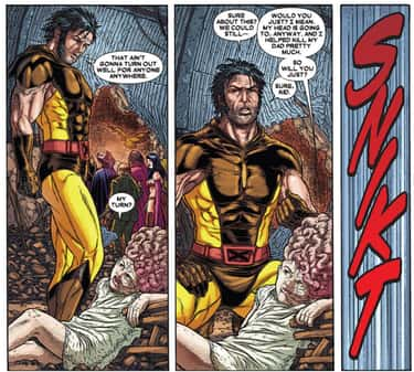 Wolverine Killed an Innocent S is listed (or ranked) 2 on the list 11 Times Innocent Kids Were Killed in Marvel Comics