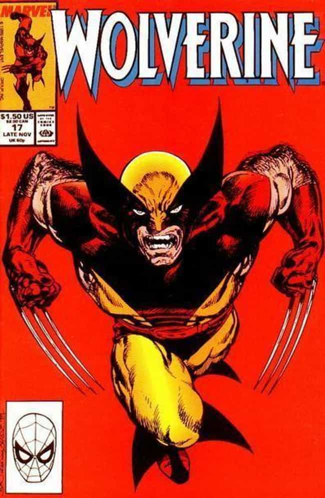 Wolverine is listed (or ranked) 3 on the list Top 100 Most Popular Superheroes and Villains in Comic Books