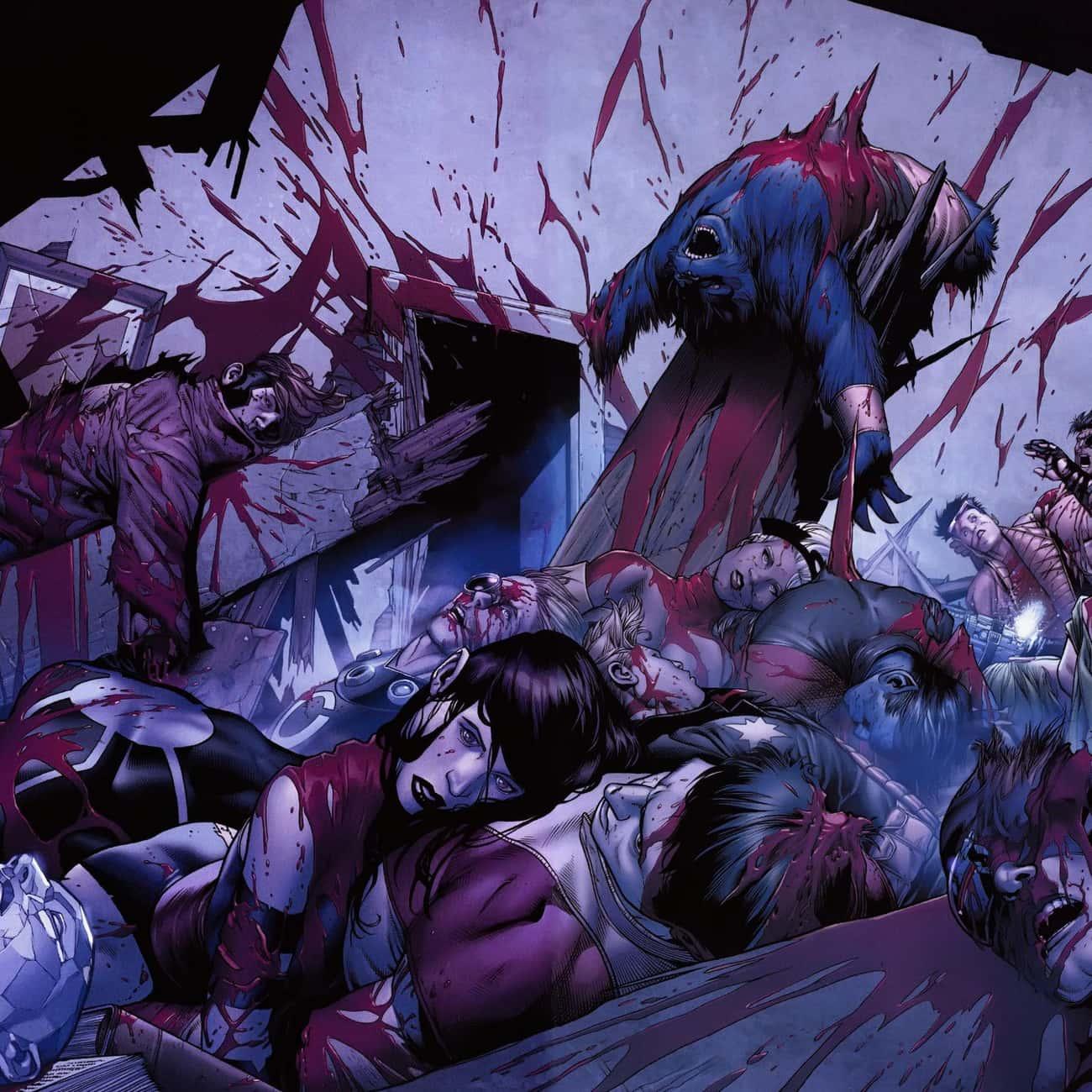 Old Man Logan Slaughtered The X-Men