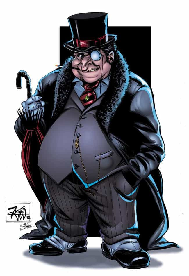 Penguin is listed (or ranked) 3 on the list The Best Overweight Characters in Comics