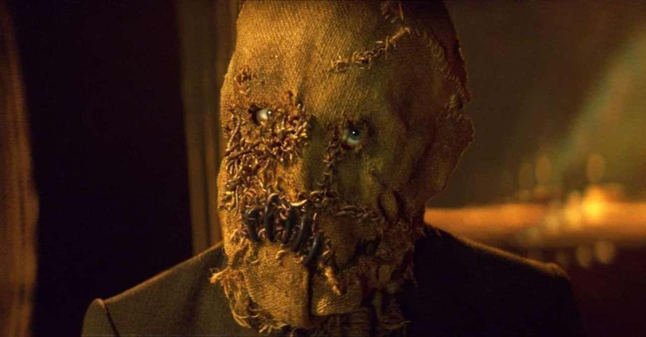 Scarecrow is listed (or ranked) 4 on the list 10 Amazing Roles Almost Played by Nicolas Cage
