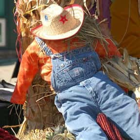 Scarecrow is listed (or ranked) 1 on the list Easy Costumes If You Already Have Overalls
