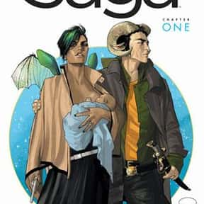 Saga is listed (or ranked) 12 on the list The Greatest Graphic Novels and Collected Editions