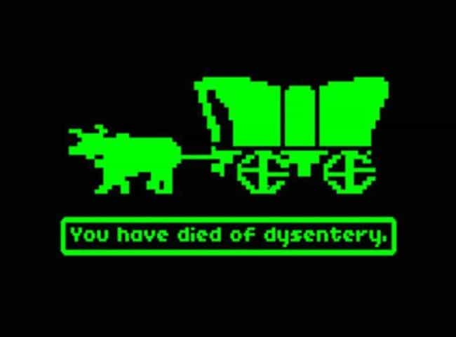 The Oregon Trail is listed (or ranked) 2 on the list 14 Video Games That Totally Deserve A Rerelease Or Remake