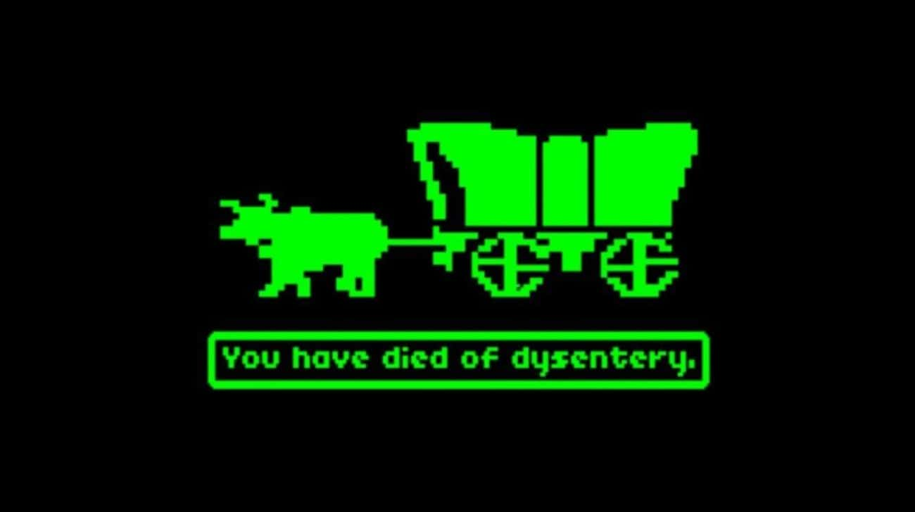 The Oregon Trail is listed (or ranked) 1 on the list Edutainment Games From Your Childhood You Totally Forgot About