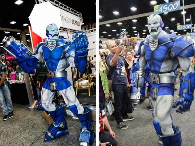 Apocalypse is listed (or ranked) 3 on the list Cosplayers Who Stepped Right Out of the Comics
