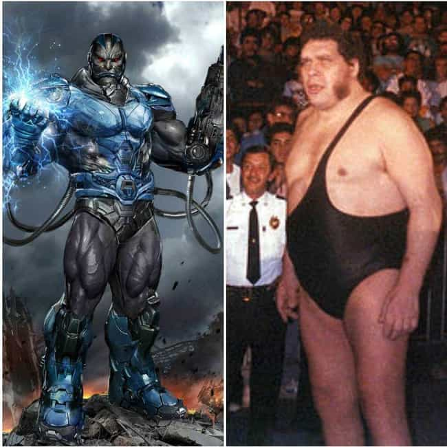 Apocalypse is listed (or ranked) 3 on the list 15 Pictures That Put The Enormous Marvel Characters In Perspective