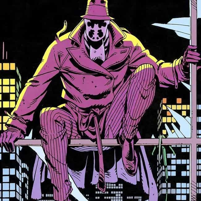 Rorschach is listed (or ranked) 2 on the list 15 Superheroes Who Need a Resurrection, Already!