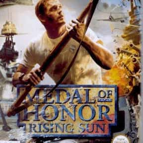 Medal of Honor: Rising Sun is listed (or ranked) 25 on the list The Best Video Games Set In WW2