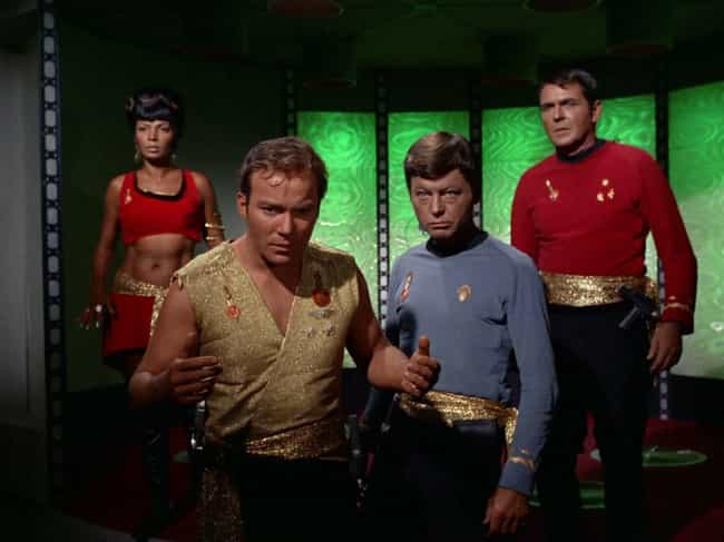 Mirror, Mirror is listed (or ranked) 2 on the list The Most Surreal And Horrifying Transporter Accidents On Star Trek