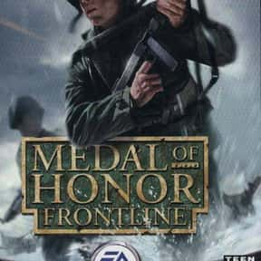 Medal of Honor: Frontline is listed (or ranked) 12 on the list The Best Video Games Set In WW2