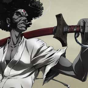 Afro Samurai is listed (or ranked) 14 on the list The Best Anime Swordsman of All Time