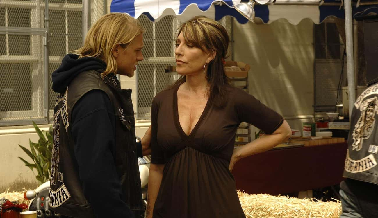 Gemma Teller Morrow In 'Sons o is listed (or ranked) 2 on the list TV Parents Who Should Probably Have Their Children Taken Away