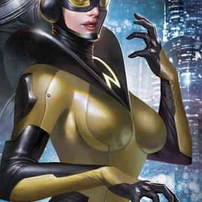 Wasp is listed (or ranked) 25 on the list The Best Female Comic Book Characters