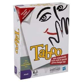Taboo is listed (or ranked) 9 on the list The Best Board Games for Parties