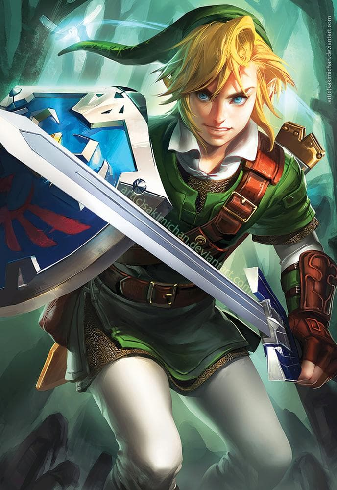 Image of Random Best Legend of Zelda Characters