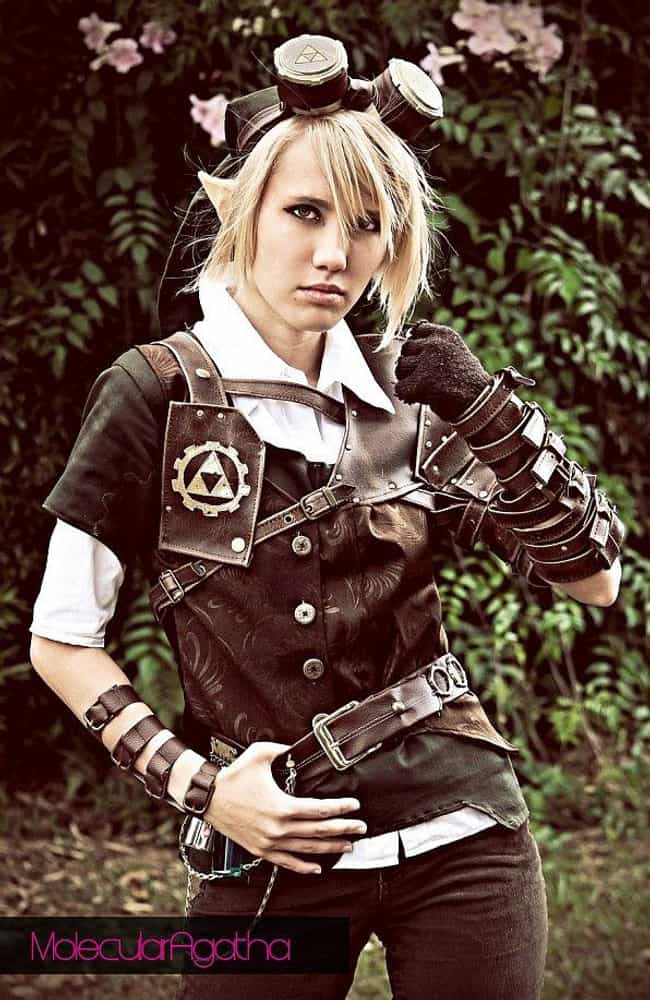 Link is listed (or ranked) 3 on the list 25 Epic Steampunk Versions Of Your Favorite Characters
