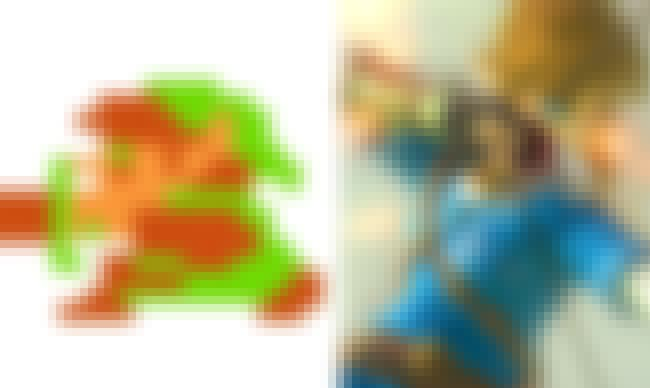 Link is listed (or ranked) 3 on the list The Evolution Of Your Favorite Video Game Characters Over Time