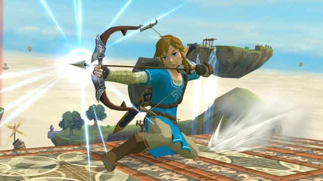 Link is listed (or ranked) 2 on the list Which Video Game Hero Would You Be Based On Your Zodiac Sign?