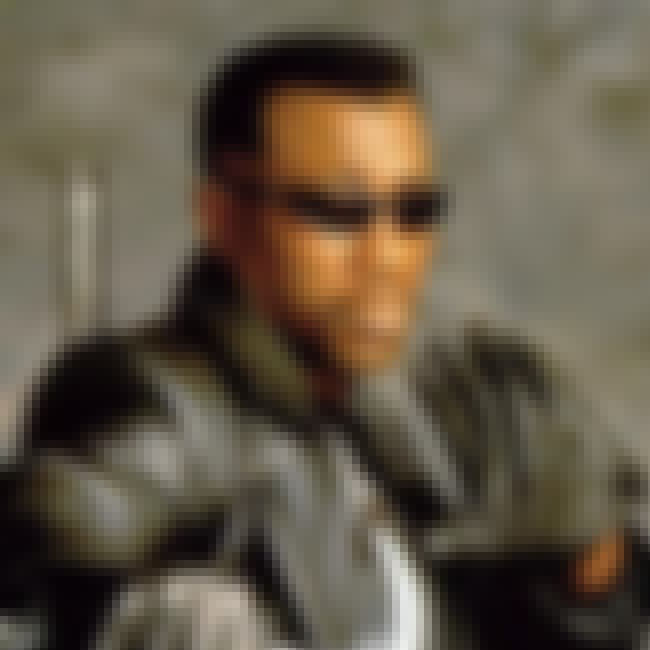 Blade is listed (or ranked) 4 on the list The Top Comic Book Vampires