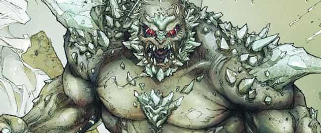 Doomsday is listed (or ranked) 4 on the list The Most Destructive Comic Book Events