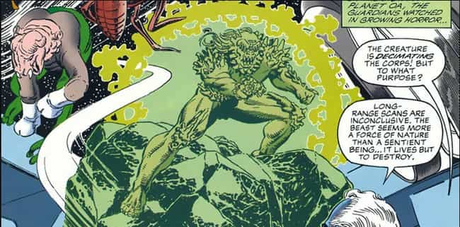 Doomsday is listed (or ranked) 4 on the list Every Non-Green Lantern Hero Or Villain Who Has Worn A Power Ring In The DC Universe