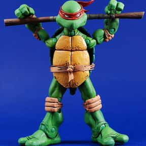 Donatello is listed (or ranked) 24 on the list The Best Green Characters