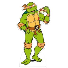 Michelangelo is listed (or ranked) 16 on the list The Best Green Characters