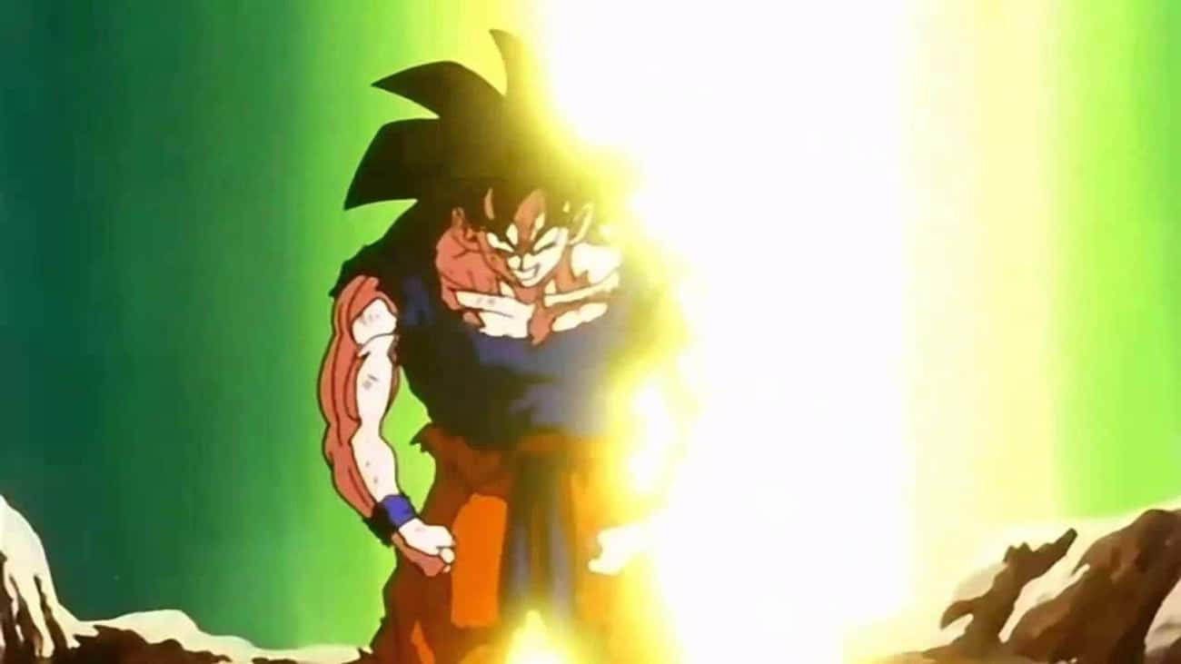 Goku Goes Super Saiyan For The First Time In 'Dragon Ball Z'