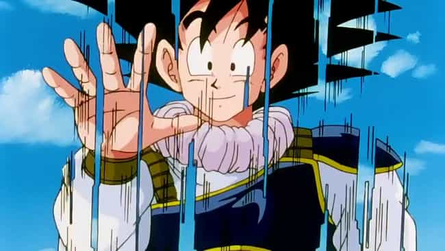 Goku is listed (or ranked) 2 on the list 16 Insanely Fast Anime Characters Who Move At Superhuman Speed