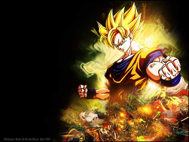 Goku is listed (or ranked) 2 on the list Popular Male Cartoon Characters Voiced By Women