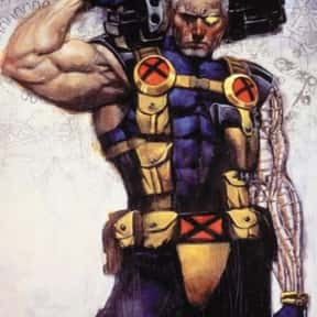 Cable is listed (or ranked) 24 on the list The Top Marvel Comics Superheroes