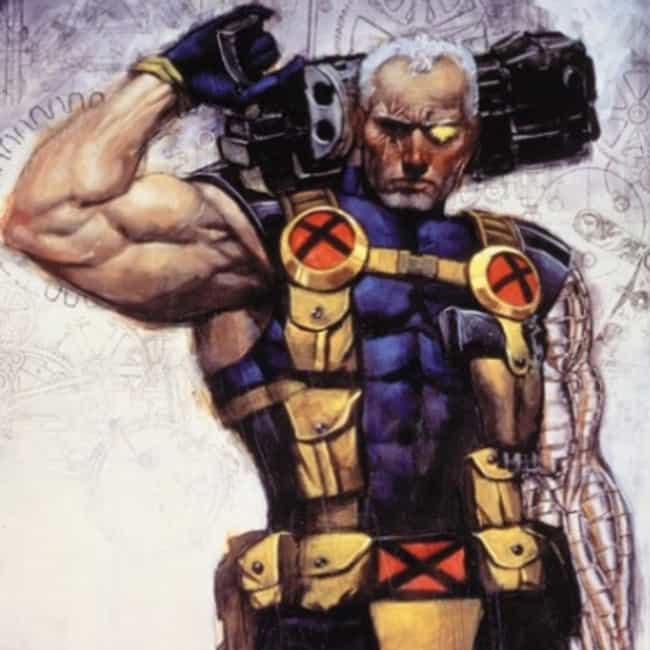 Cable is listed (or ranked) 3 on the list Fictional Characters With Ludicrously Stupid 'Real Names'