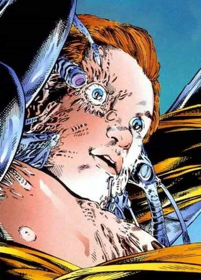 Cable is listed (or ranked) 8 on the list Marvel Superheroes With The Most Harrowing Origin Stories