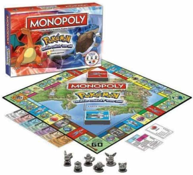 Pokémon is listed (or ranked) 7 on the list The Best Editions of Monopoly