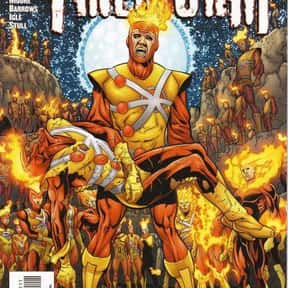 Firestorm is listed (or ranked) 19 on the list The Best Members of the Justice League and JLA