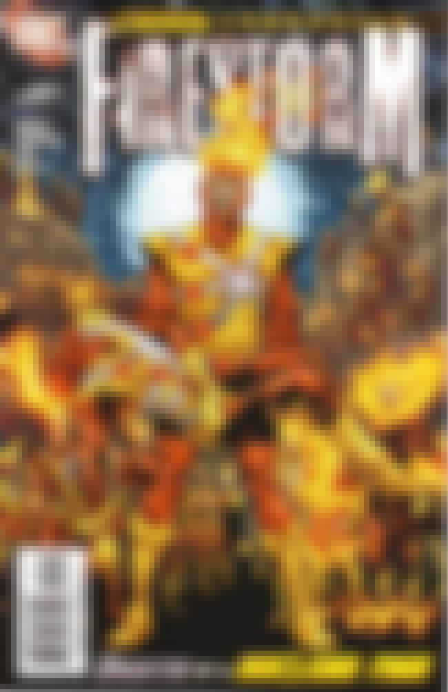 Firestorm is listed (or ranked) 2 on the list Nuclear-Themed Comic Book Characters