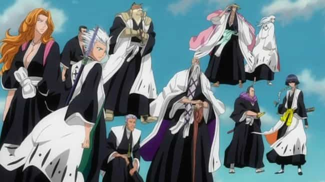 Bleach is listed (or ranked) 3 on the list The Best Anime Like One Piece