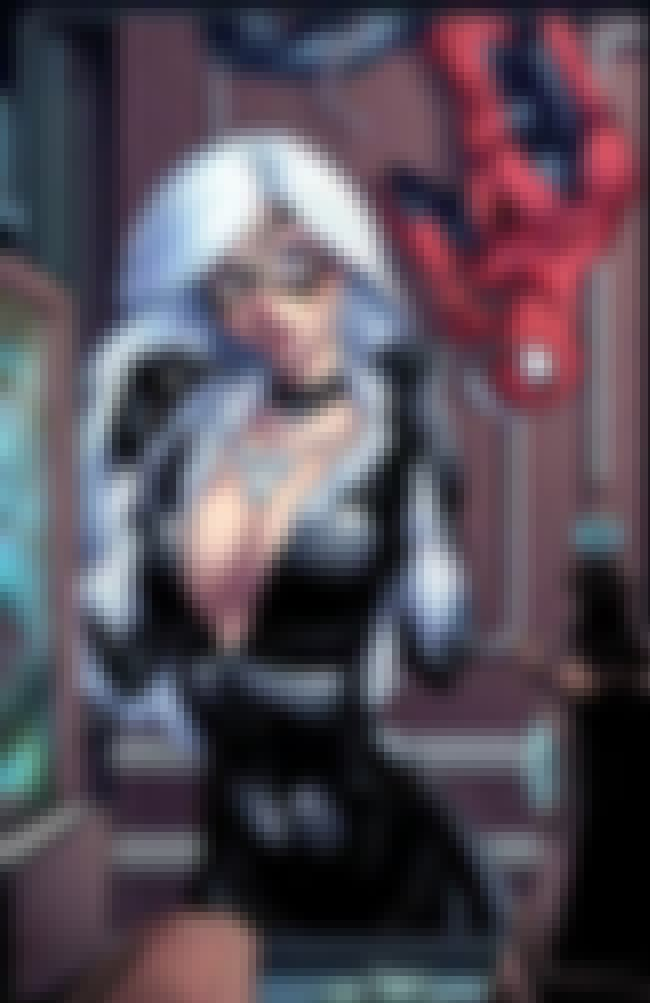 Black Cat is listed (or ranked) 2 on the list The Best Superheroine Boobs in Comic Book History