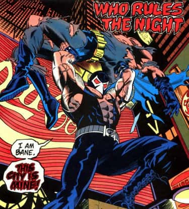 Bane Breaks Batman's Back is listed (or ranked) 1 on the list 14 Times Batman Got the Crap Kicked Out of Him