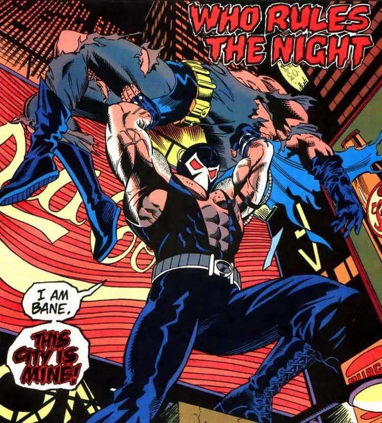 Bane Breaks Batman's Back