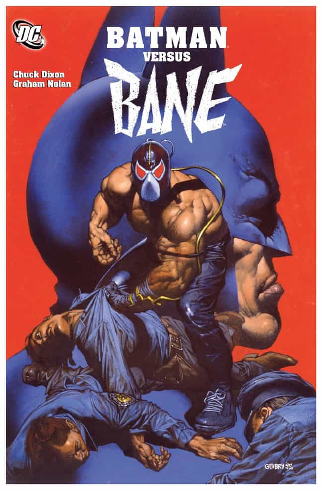 Bane is listed (or ranked) 2 on the list The Best Latinx Comic Book Characters