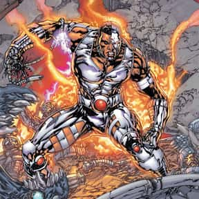 Cyborg is listed (or ranked) 10 on the list The Best Teenage Superheroes